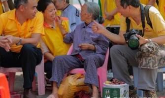 【点赞】东江义工携锦好人走进大岚敬老院,并给需要的老人赠送助听器